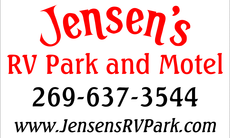 JENSEN'S RV PARK AND MOTEL (269) 637-3544 7366 NORTH SHORE DRIVE SOUTH HAVEN, MI 49090